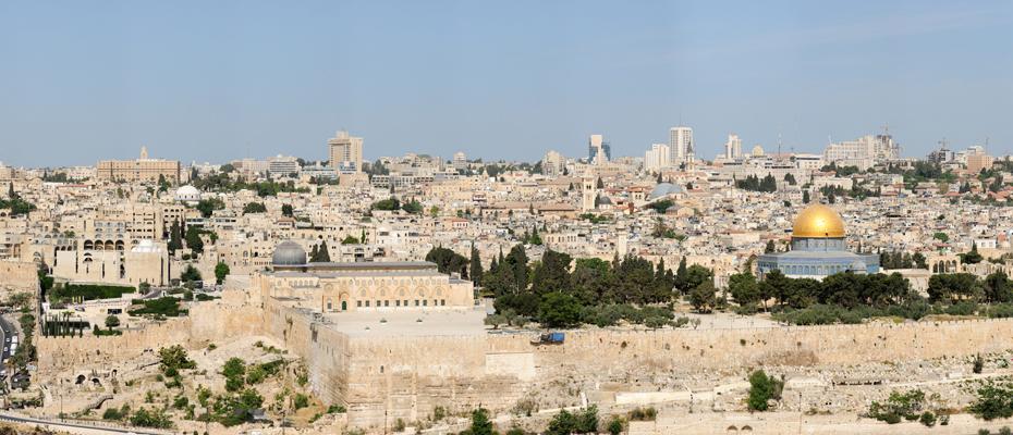 פרוייקט ירושלים – תצפית מהר הזיתים