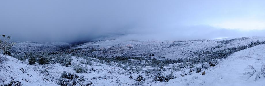 ואדי דולב בשלג