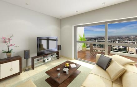 דירה לדוגמה – הדמיות 360